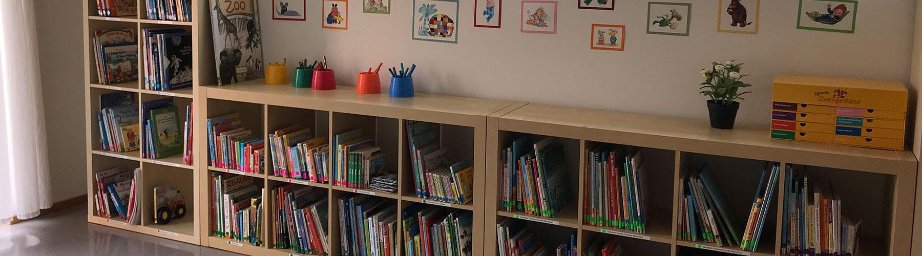 Kindergartenbücherei AWO Norbert Sieben